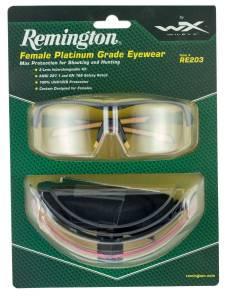 c8aa4c6383 Remington Wiley X RE 203 Shooting Sporting Glasses Women Black Pink Frame  Clear Rose Yellow Smoke Gray Lenses