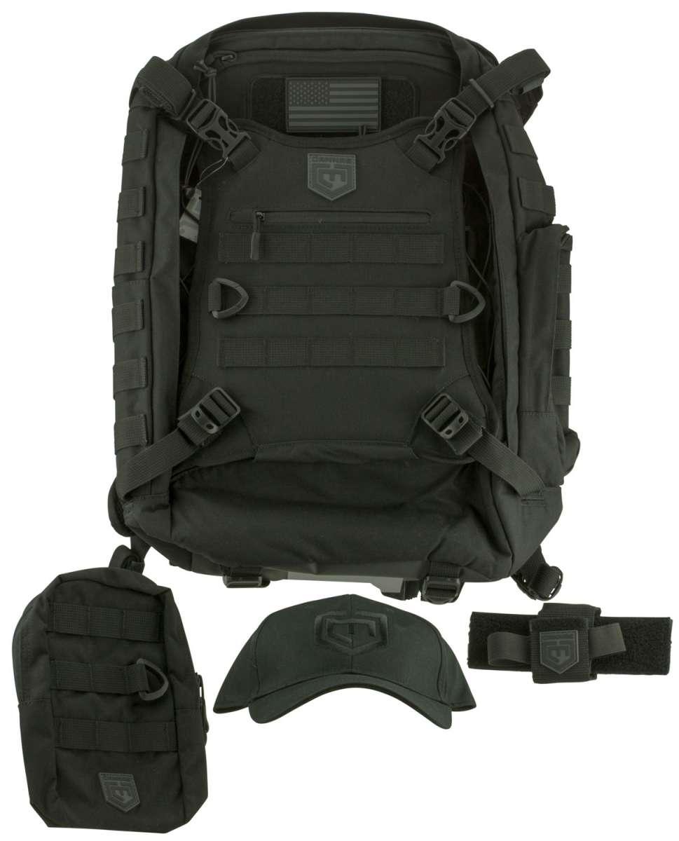 Cannae Pro Gear Phalanx Full Size Duty Pack Tactical Bundle Backpack  Cordura Pouch Holster de67c90c0ef5